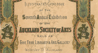 Auckland Society of Arts illustrated catalogue