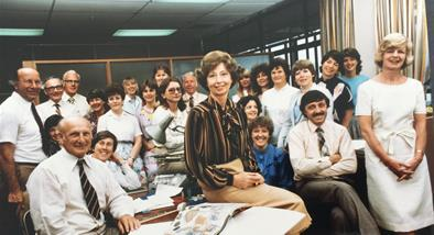 Woman's Weekly staff 1983