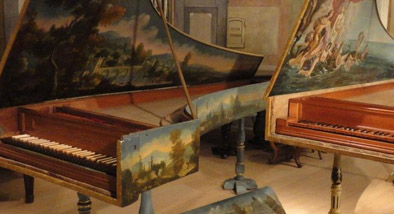 Two harpsichords