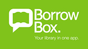 BorrowBox logo.