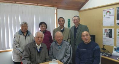 Members of the East Coast Bays Library Chinese social club