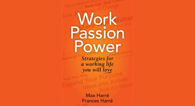Book cover for Work, Passion, Power
