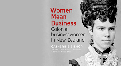 Women mean business book cover.