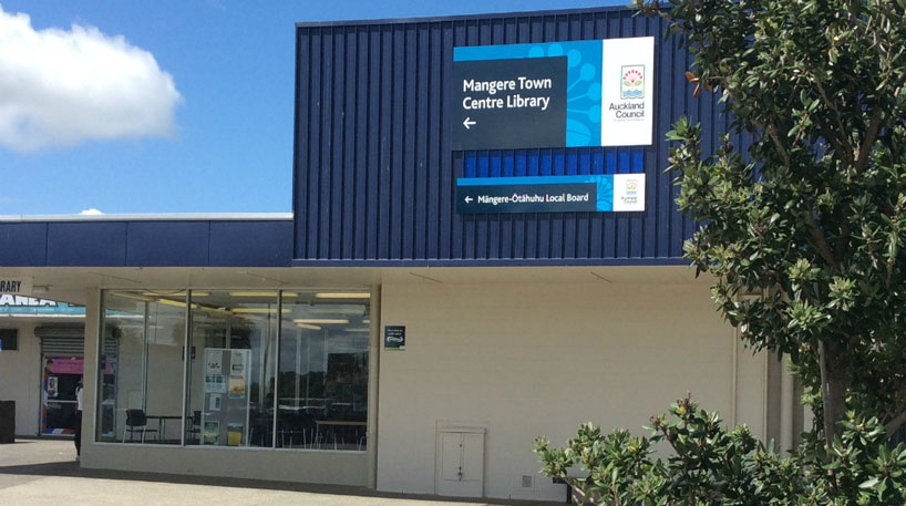 Mangere Town Centre Library