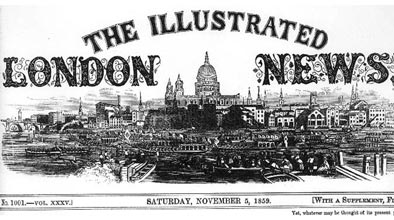 View the Illustrated London News.